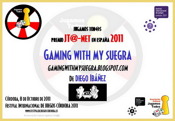 Premio JT@-net 2011: Gaming with my suegra